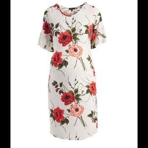 Dresses & Skirts - Mauve floral maternity dress NWT